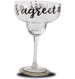 MudPie MudPie, Lets Agreeta Margarita Glass