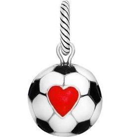 Brighton Brighton, Soccer Ball Charm, Silver-Multi