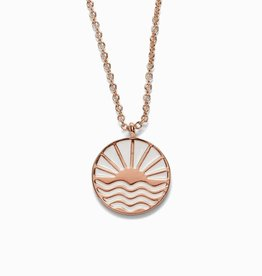 PuraVida PuraVida, Sunrise to Sunset Necklace, Rose Gold
