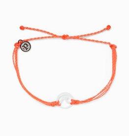 PuraVida PuraVida, Enamel Wave White Bracelet, Strawberry