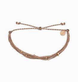 PuraVida PuraVida, Rose Gold Malibu Bracelet, Sandwood