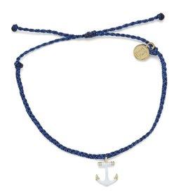 PuraVida Puravida, Anchors Away Gold Bracelet, INDI
