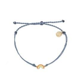 PuraVida 30% OFF PuraVida, Gold Rainbow Bracelet, Blue FINAL SALE