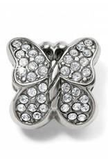 Brighton Brighton, Blingy Butterfly Bead, Silver