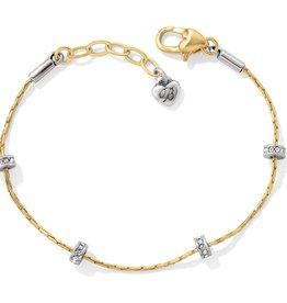 Brighton Brighton, Gold Meridian Orbit Bracelet