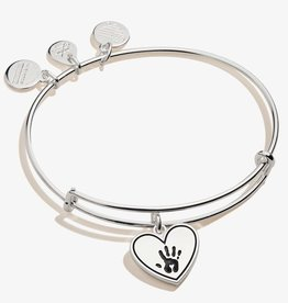 Alex and Ani Forever Touched My Heart, Shiny Silver