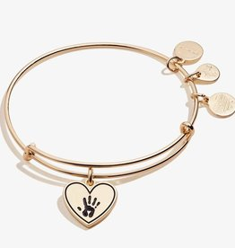 Alex and Ani Forever Touched My Heart, Shiny Antique Gold