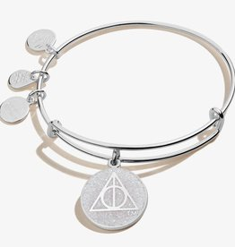 Alex and Ani Harry Potter, Deathly Hallows, Color Infusion, Shiny Silver