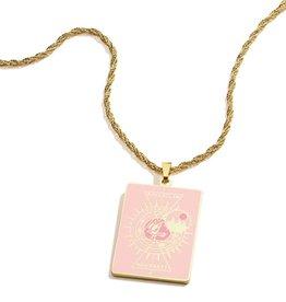 Alex and Ani Harry Potter, Hogwarts Emblem Ravenclaw 26in Adjustable Necklace, Shiny Gold