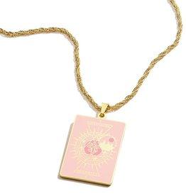 Alex and Ani Harry Potter, Hogwarts Emblem Gryffindor 26in Adjustable Necklace, Shiny Gold