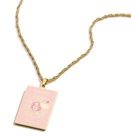 Alex and Ani Harry Potter, Hogwarts Emblem Slytherin 26in Adjustable Necklace, Shiny Gold