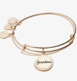 Alex and Ani Grandma, Wise + Warm Charm Bangle, Shiny Gold