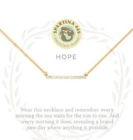 "Spartina 449 Spartina 449, SLV Necklace 18"", Hope/Horizon"