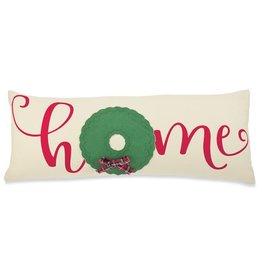 MudPie Mudpie, Home Canvas Tree Pillow