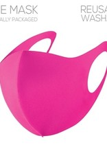 What's Hot Bright Pink Adult Face Mask