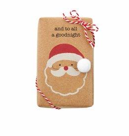 MudPie Santa Funny Soap w/Trim