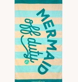 Spartina 449 Spartina 449, Beach Towel Mermaid Off Duty Sea Foam FINAL SALE