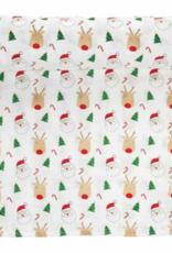 MudPie Baby Christmas Muslin Swaddle