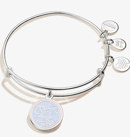 Alex and Ani Sending Hugs, Just Because, Shiny Silver