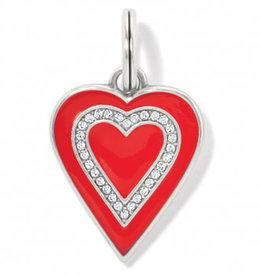 Brighton Love Cherish Amulet, Red