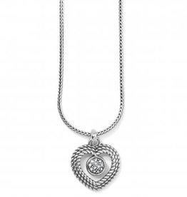 Brighton Brighton, Portuguese Heart Short Necklace