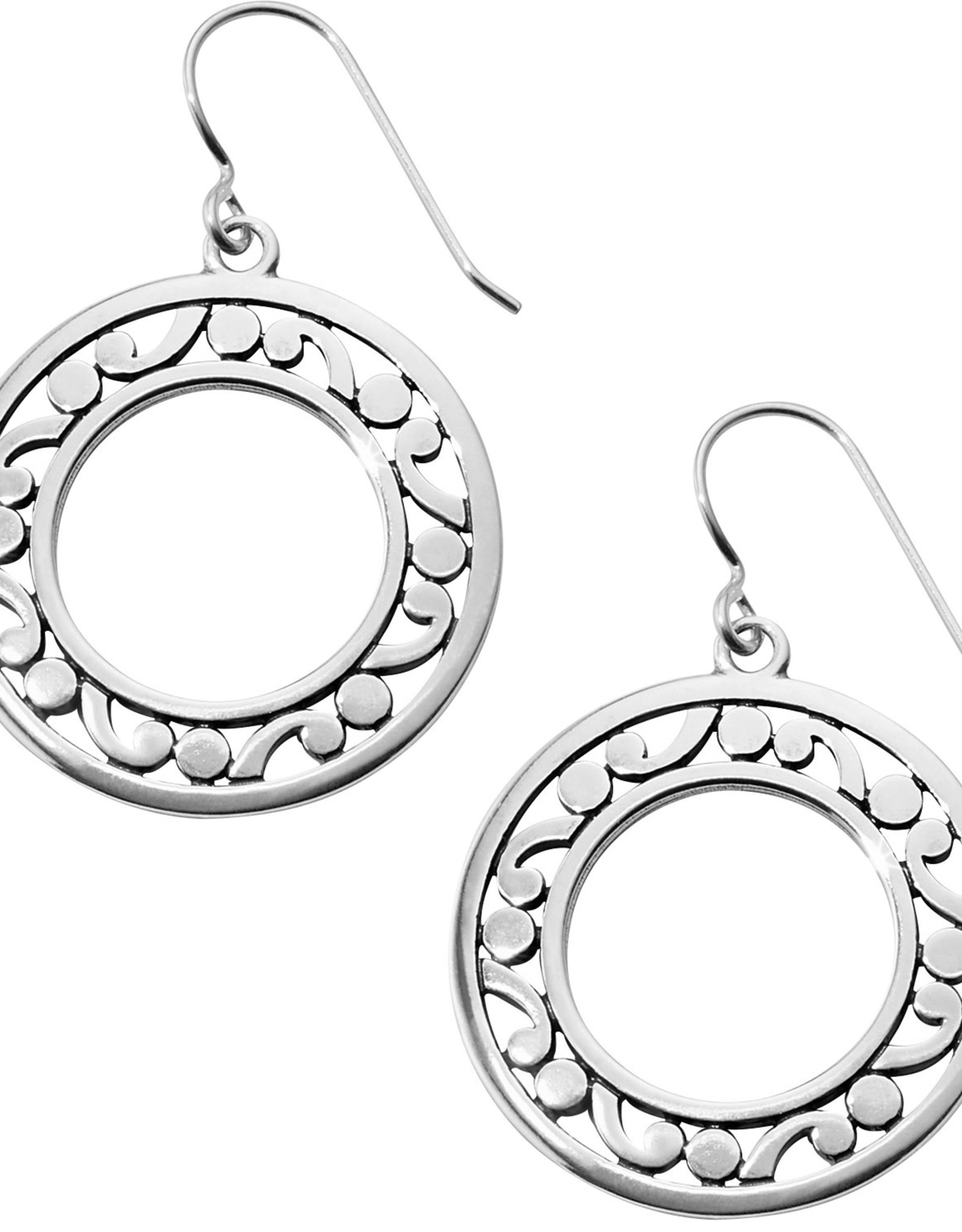 Brighton Brighton, Contempo Open Ring French Wire Earrings