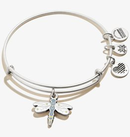 Alex and Ani Dragonfly Charm Bangle, Silver