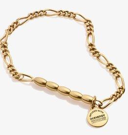 Alex and Ani Mini Links Stretch Bracelet, Gold