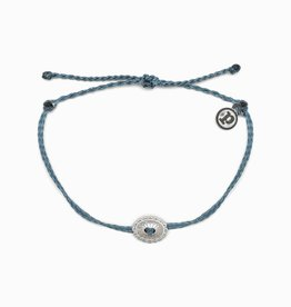PuraVida 30% OFF PuraVida, Silver Boho Concho Bracelet, Blue FINAL SALE