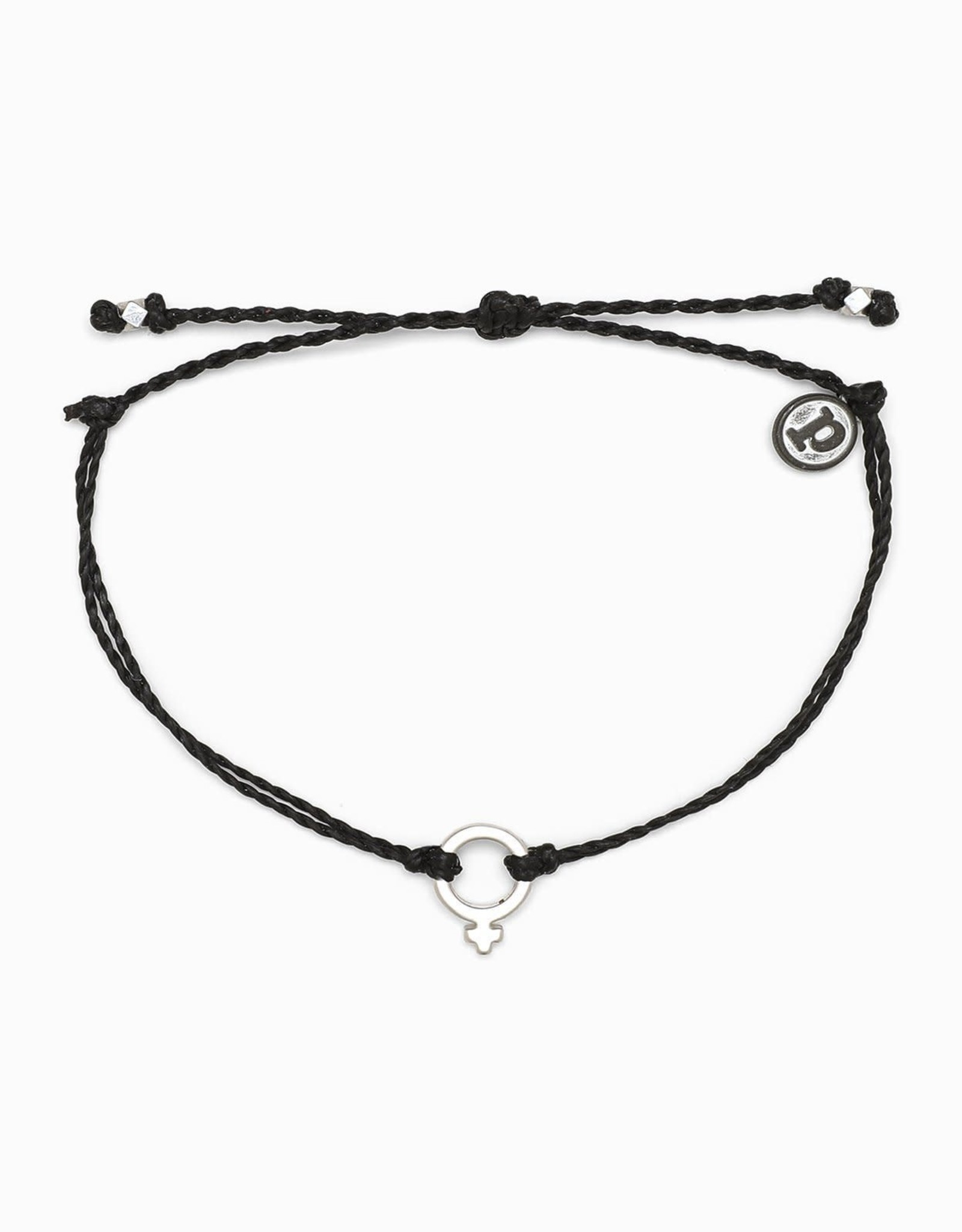 PuraVida 30% OFF PuraVida, Silver Femme Bracelet, Black FINAL SALE