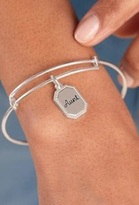 Alex and Ani Because I Love You Aunt IV, Shiny Silver