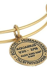 Alex and Ani Alex and Ani, Aquarius III, Gold FINAL SALE