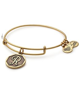 Alex and Ani .Alex and Ani, INITIAL R, Gold FINAL SALE