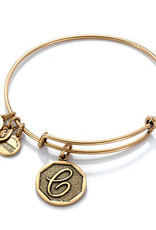 Alex and Ani .Alex and Ani, INITIAL C, Gold FINAL SALE