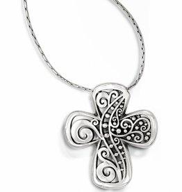 Brighton Brighton, Love Affair Reversible Cross Necklace