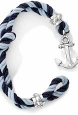 Brighton Brighton, Ink Coastal Twisted Rope Bracelet, Blue FINAL SALE