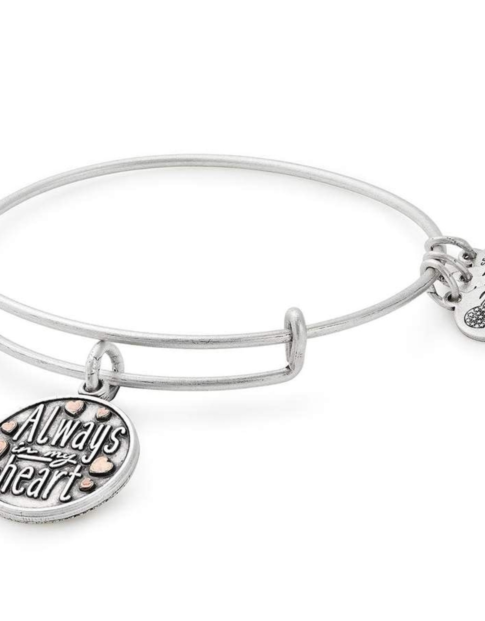 Alex and Ani Always In My Heart Bangle, Two Tone