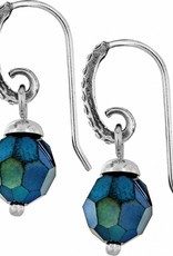 Brighton Brighton, Blue Crystal Medley French Wire Earrings FINAL SALE