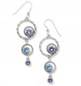 Brighton Brighton, Halo Radiance French Wire Earrings