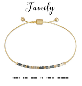 Dot & Dash Dot & Dash, Family Bracelet