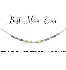 Dot & Dash Dot & Dash, Best Mom Ever Necklace