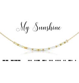 Dot & Dash Dot & Dash, My Sunshine Necklace