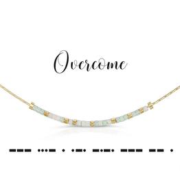Dot & Dash Dot & Dash, Overcome Necklace
