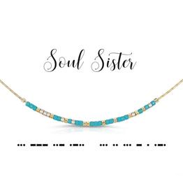 Dot & Dash Dot & Dash, Soul Sister Necklace