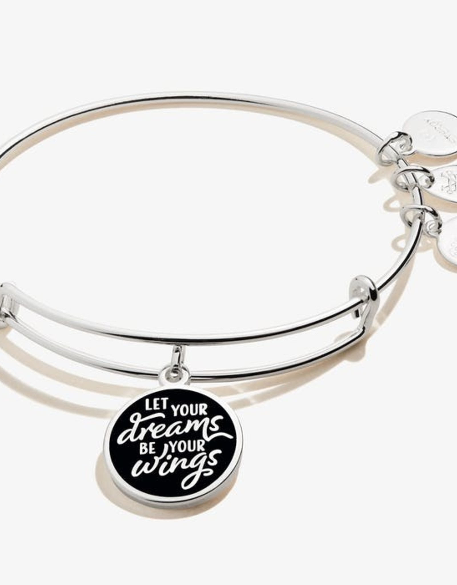 Alex and Ani Alex and Ani, Let Your Dreams Be Your Wings, Shiny Silver