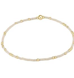 ENEWTON ENEWTON, Hope Unwritten Bracelet- Off-White