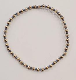 ENEWTON ENEWTON, Hope Grateful Pattern Bracelet- Dusty Blue