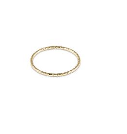 ENEWTON ENEWTON, Classic Gold Thin Band Textured Ring