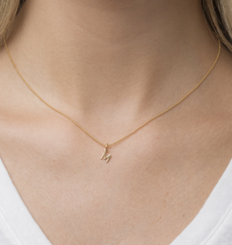 ENEWTON Gold Initial Necklace