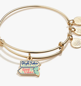 Alex and Ani Alex and Ani, High Tides Good Vibes, Shiny Gold